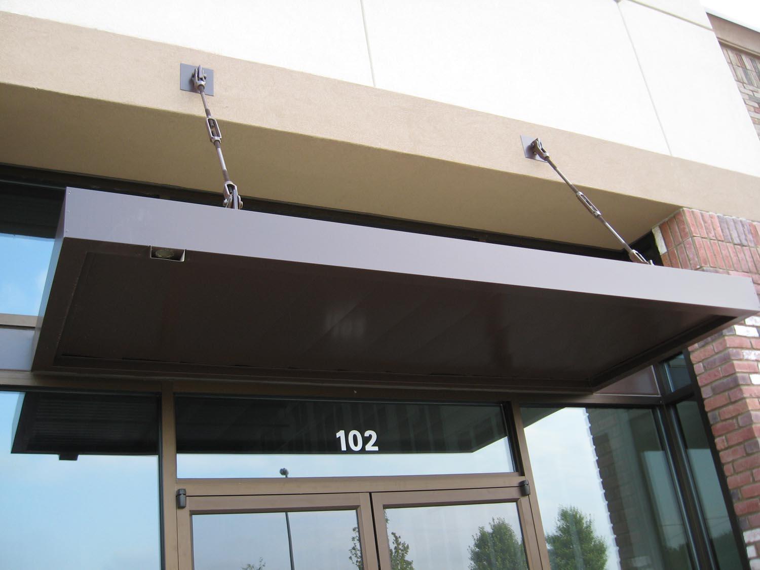 Flat Fascia wrap-2 & Archive: Portfolio Categories Overhead Canopies - Pierre Construction